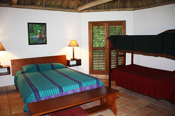 Interior of Family Cabana