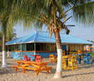 Beach bar in Placencia